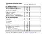 Checkliste Konzertbesuch